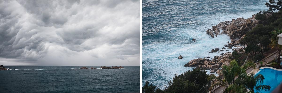 Sturm in Dubrovnik