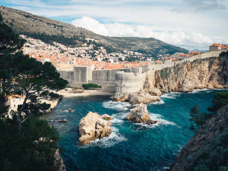 Dubrovnik - Altstadt und Stadtmauer