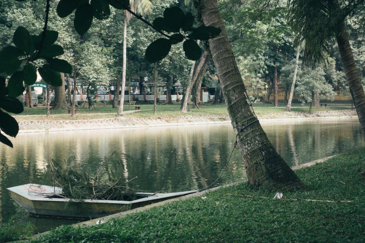 Botanischer Garten Hanoi Vietnam