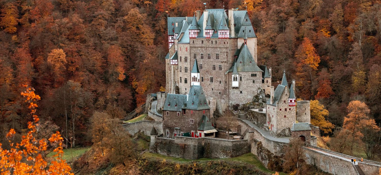 Fotografie Herbst Burg Eltz